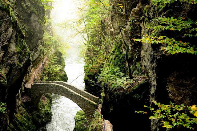pont gorges de l'areuse randonnée