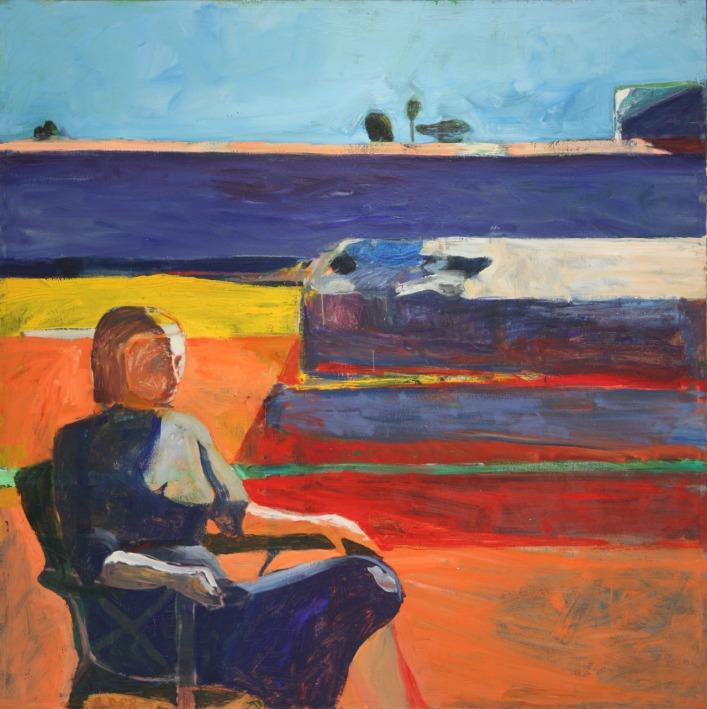 diebenkorn_ mujer en una silla