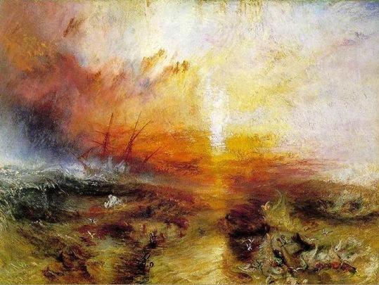 turner El Barco de Esclavos