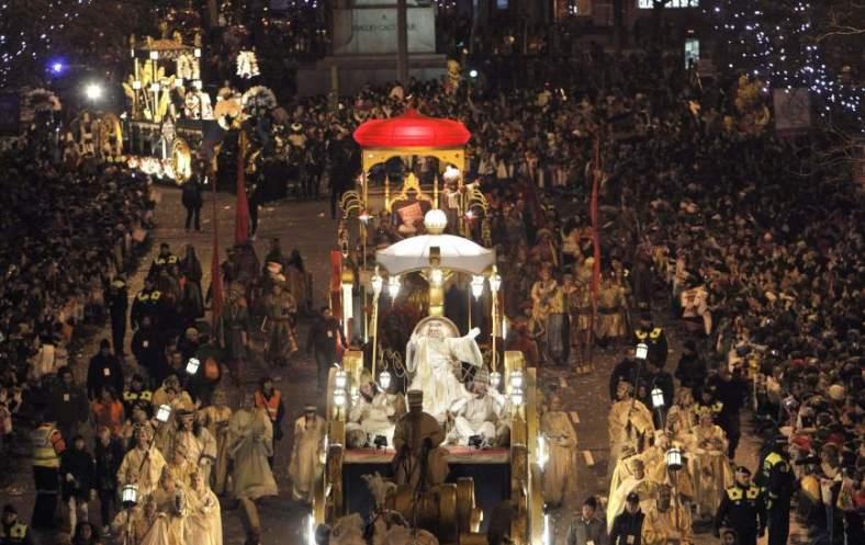 cabalgata reyes madrid 2013