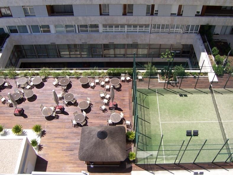 terraza padel