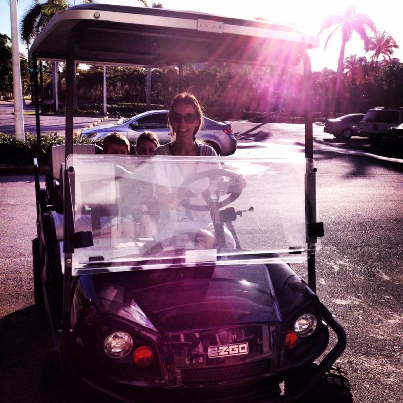 carrito de golf