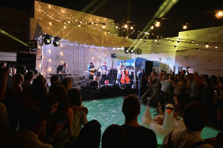 Soho House New York's 10th Birthday Celebration With A Live Performance By Mumford And Sons On The Roof Top