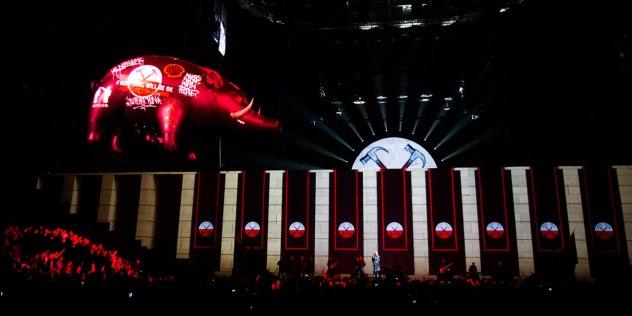 escenografia pink-floyd-the-wall live2009 2