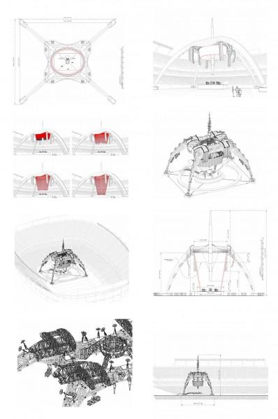 musica y arquitectura en carmina baker u2 giras planos