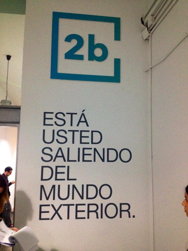 carmina baker en 2b-tube presentación en Madrid