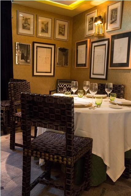 carmina baker en restaurante caray decoracion lorenzo castillo 1