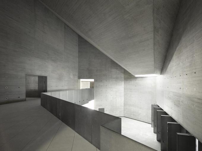 carmina baker nieto y sobejano espacio andaluz de creacion contemporranea interior