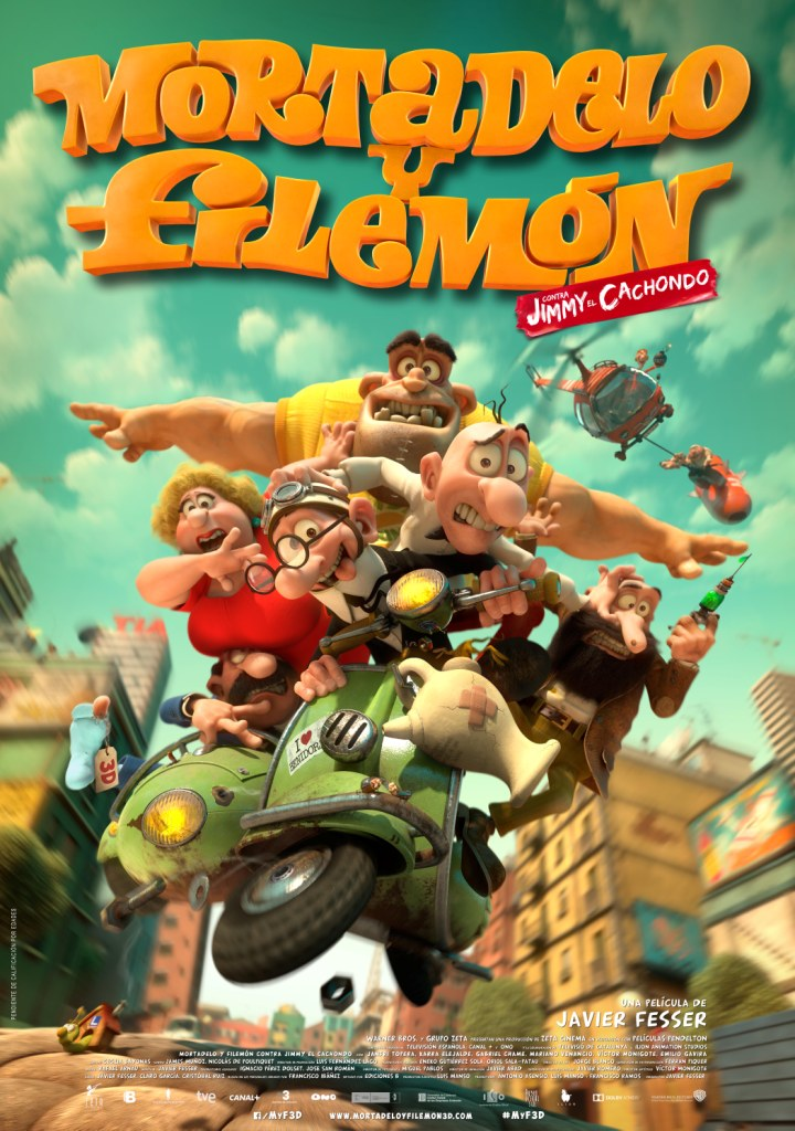 estreno mortadelo y filemon jimmy el cachondo