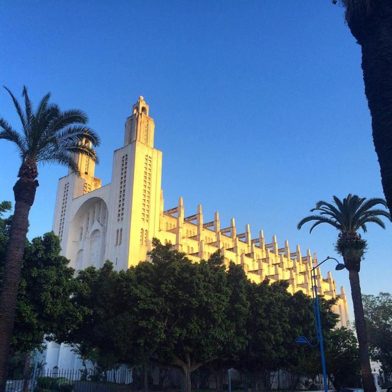 casablanca catedral sagrado corazon