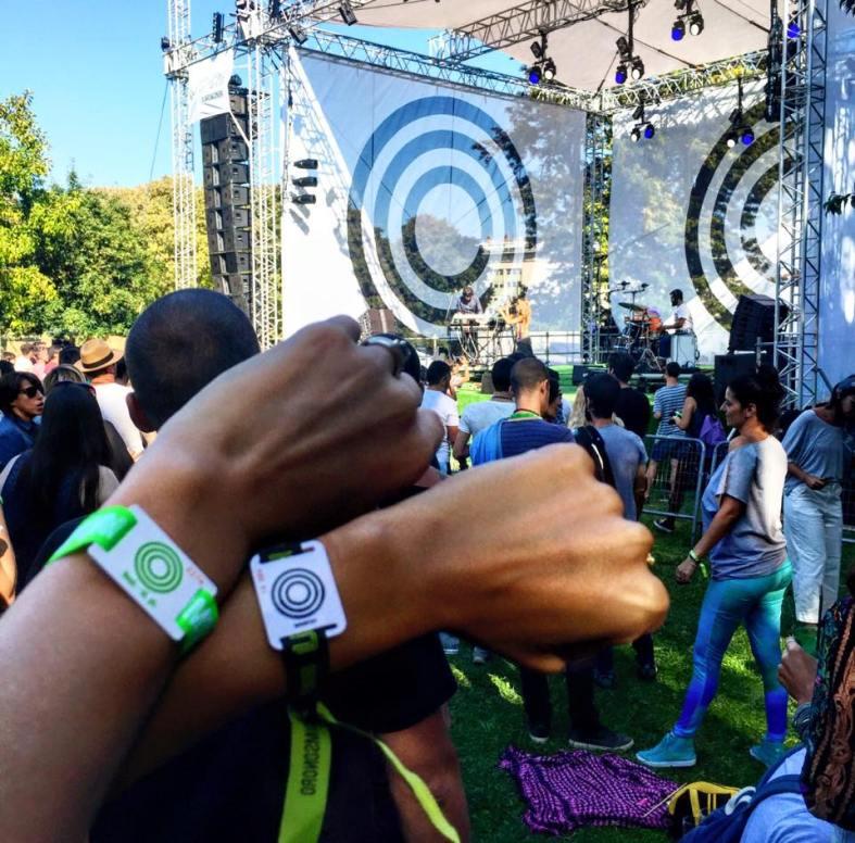 lisbon jardim sonoro pulseras VIP heineken portugal carmina baker