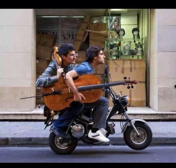 tu carrito musical musicos en la calle