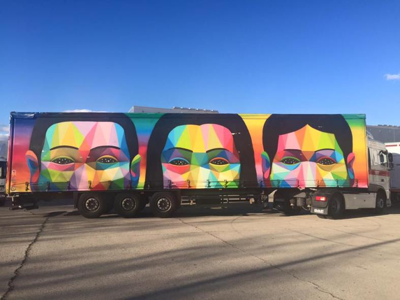 carmina baker en arco art truck project carlos urroz 1