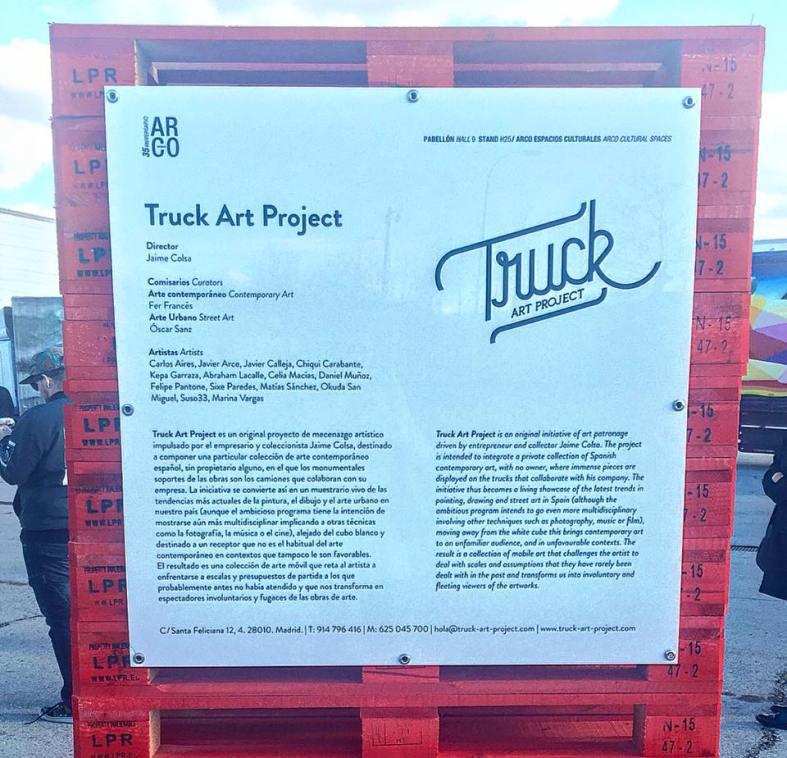 carmina baker en arco art truck project