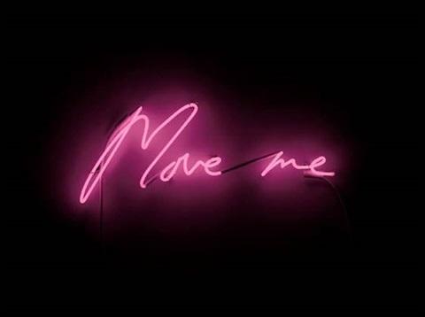 move me tracey emin neon carmina baker