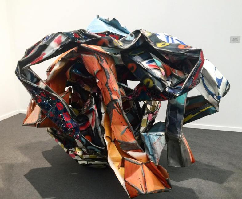 frieze-masters-john-chamberlain-sculpture