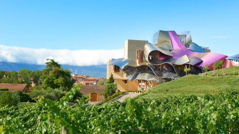 marques de riscal hotel gehry vino ecológico