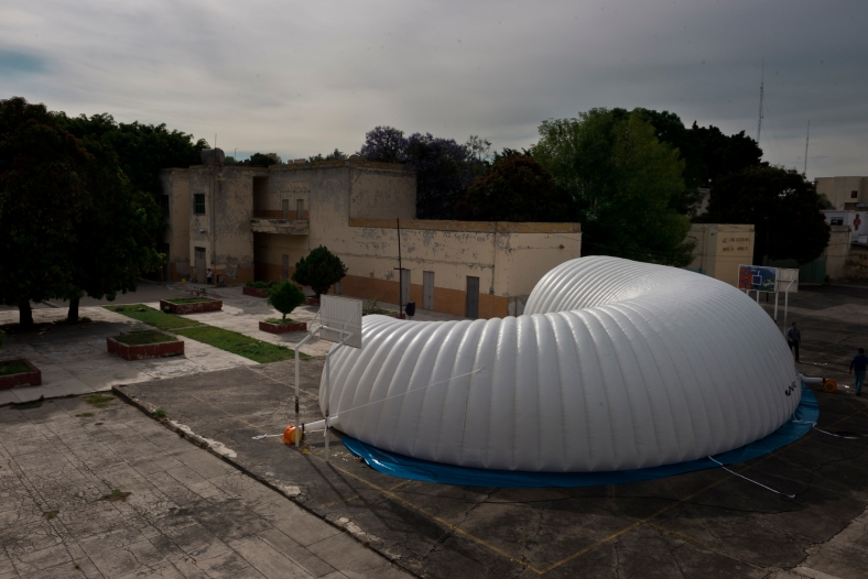 arquitectura-efímera-inflable-méxico-museo itinerante 2