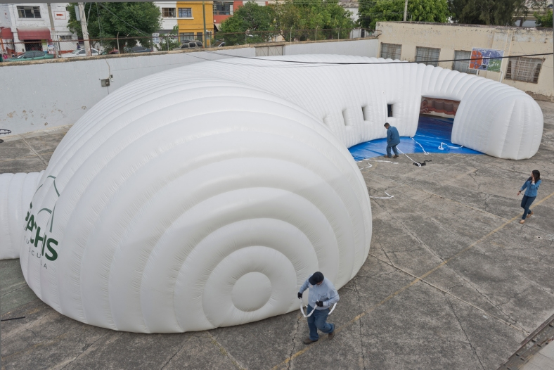arquitectura-efímera-inflable-méxico-museo itinerante