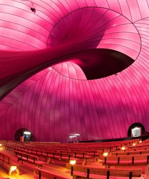 arquitectura-efímera-inflable-música en movimiento- anish kapoor interior