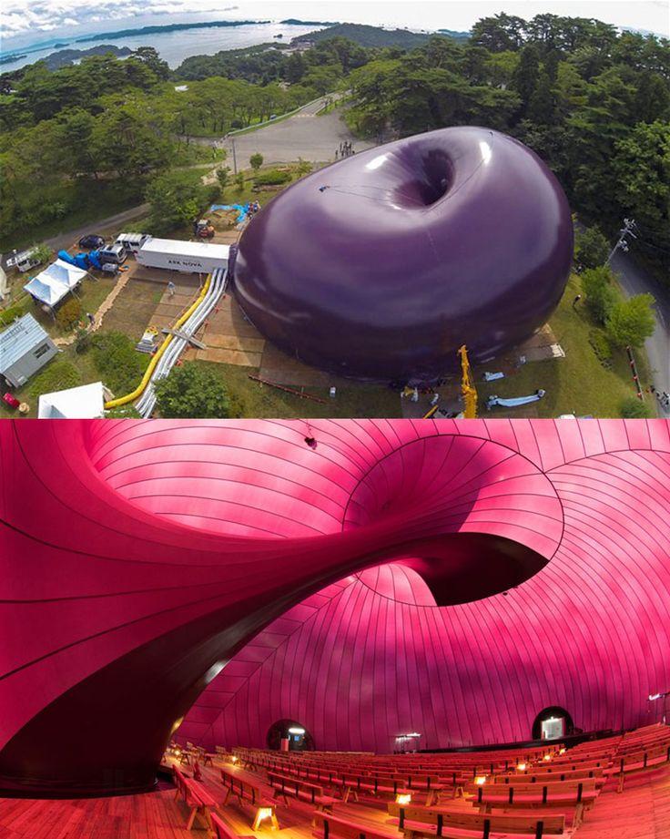 arquitectura-efímera-inflable-música en movimiento